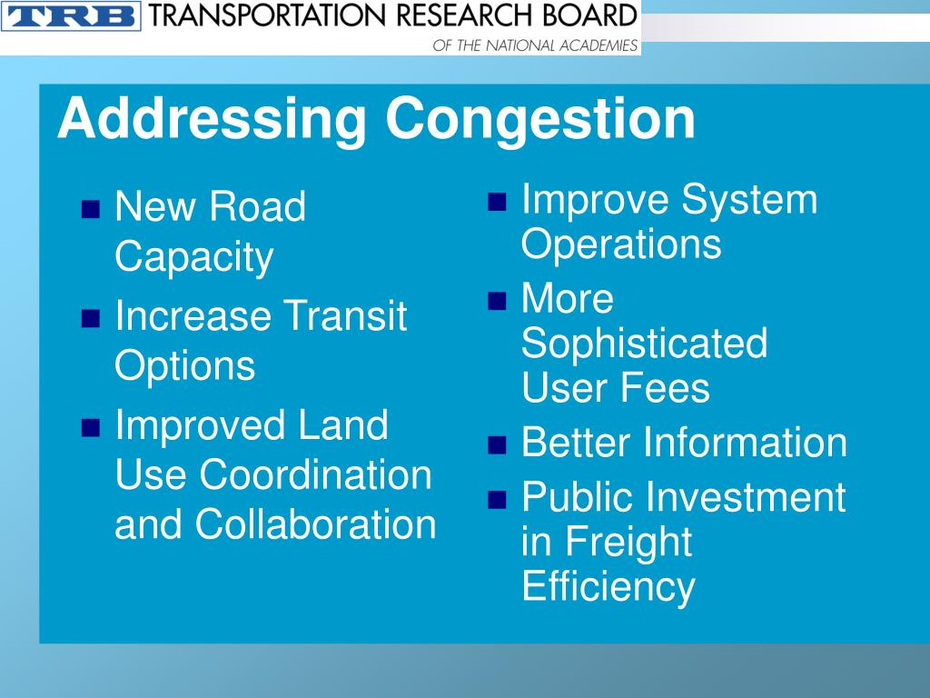 New Road Capacity