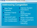 addressing congestion