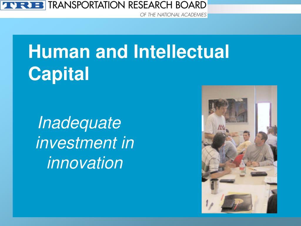 Human and Intellectual Capital