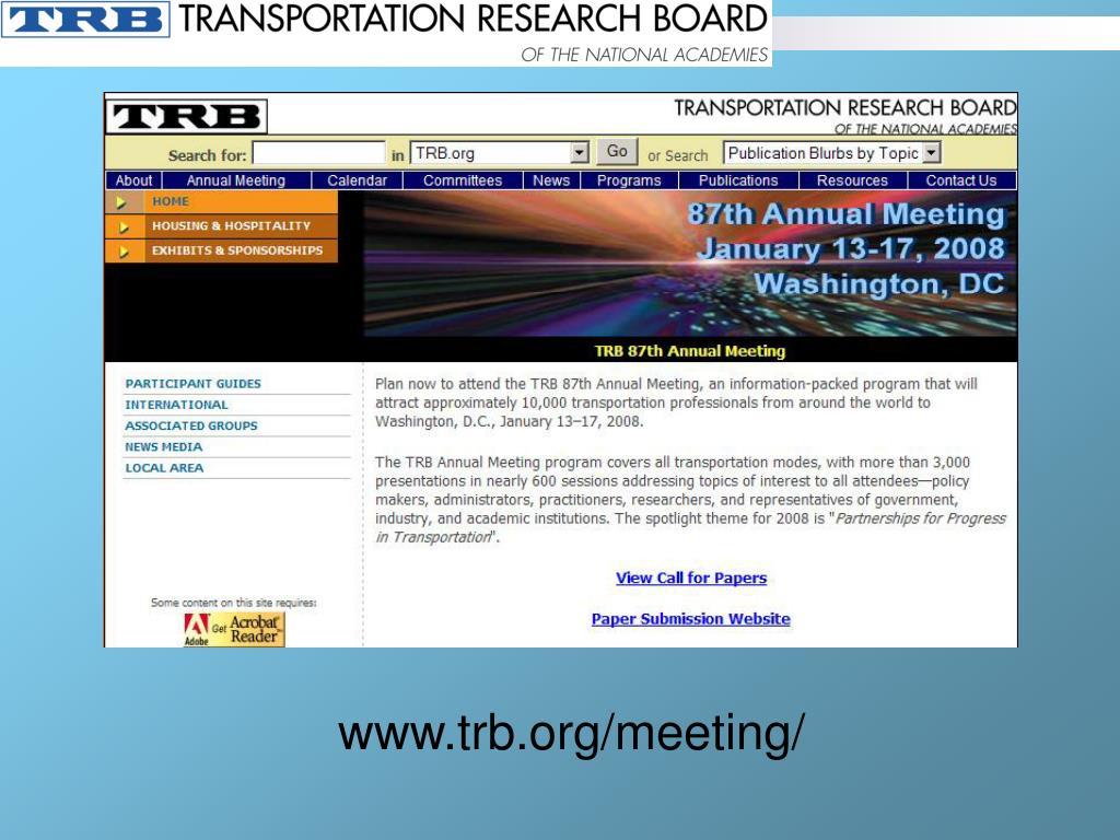www.trb.org/meeting/