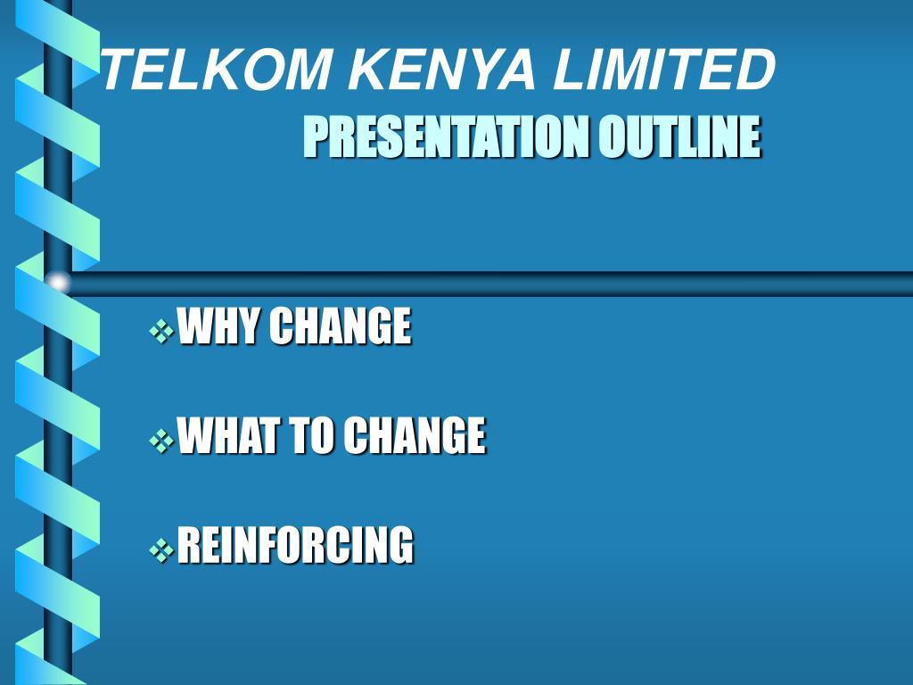 presentation outline l.