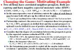 changing the game motivating example