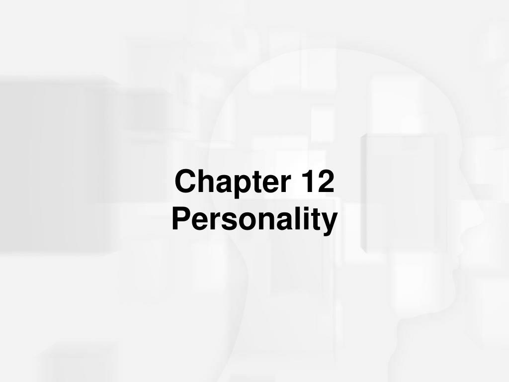 chapter 12 personality l.