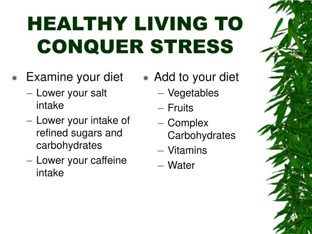 Examine your diet