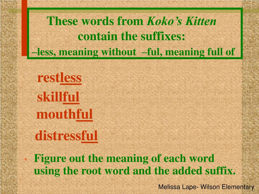 words that contain the root word thesis Students study common root words and affixes, improve their comprehension and spelling, and make a card game in which they form words with a prefix, root word.