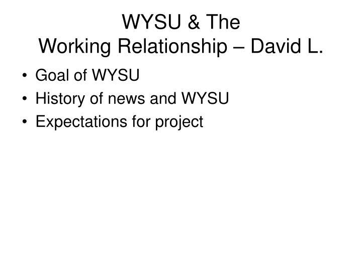 WYSU & The