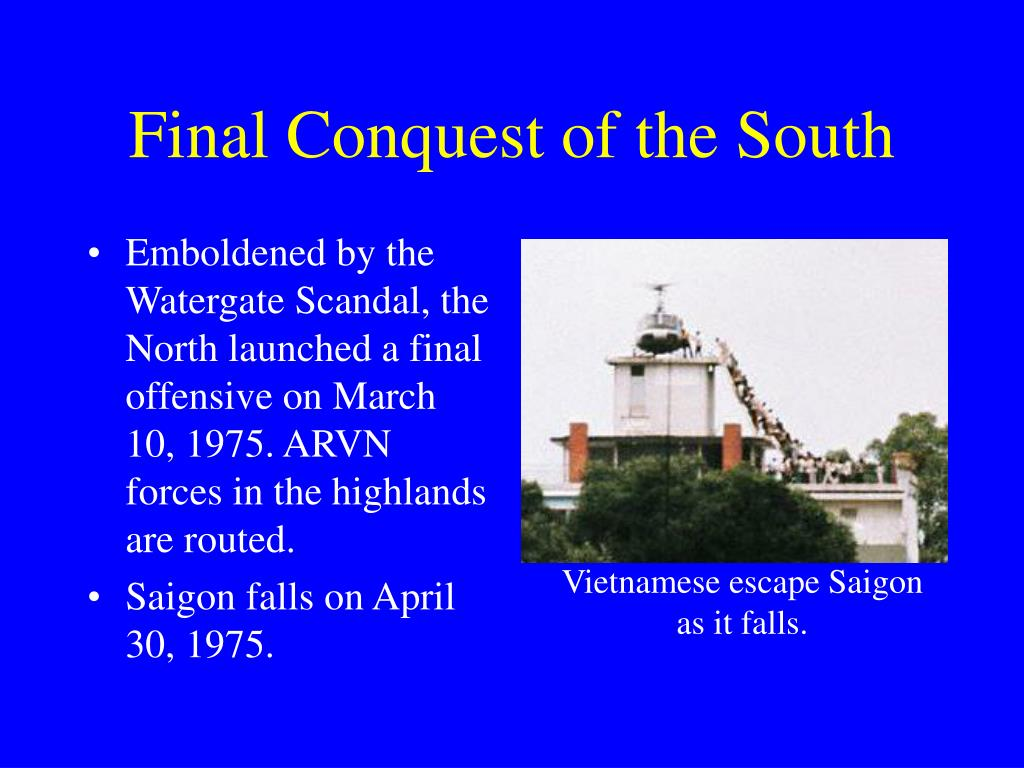 Final Conquest of the South