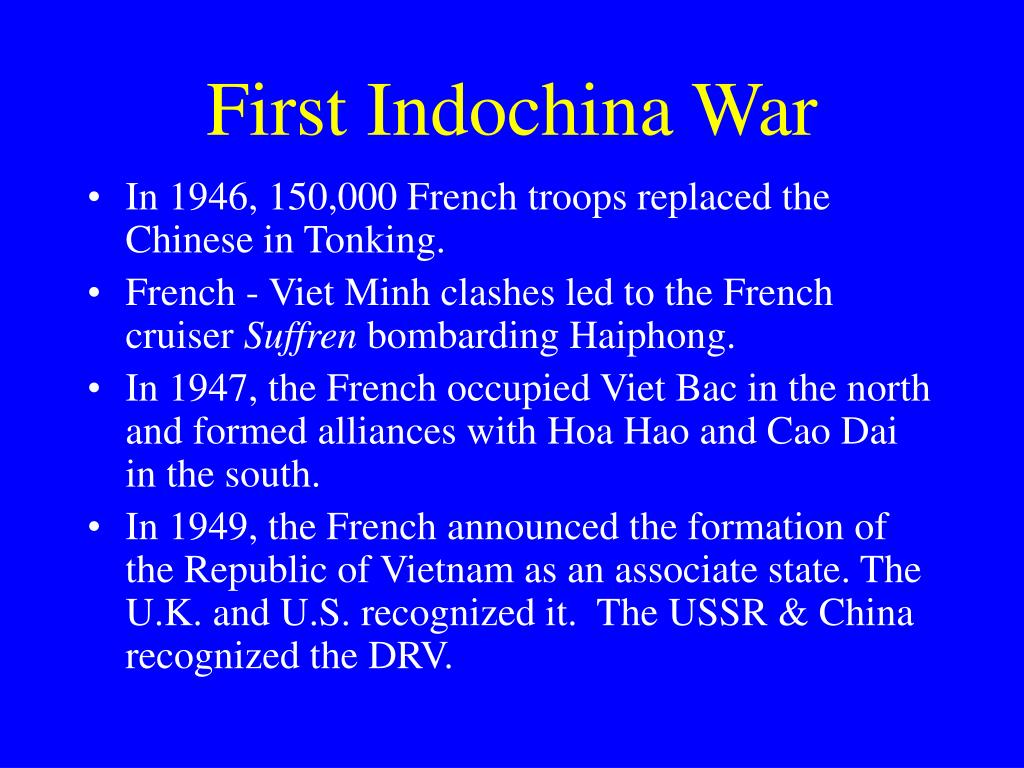 First Indochina War
