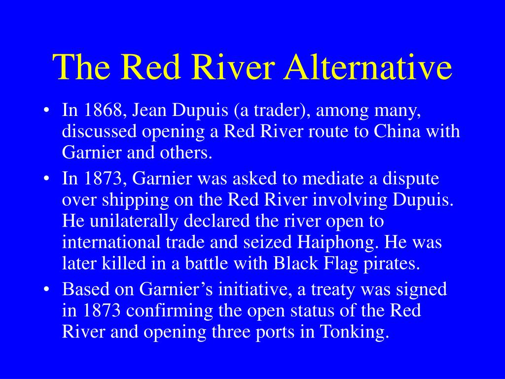 The Red River Alternative