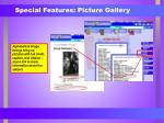 special features picture gallery