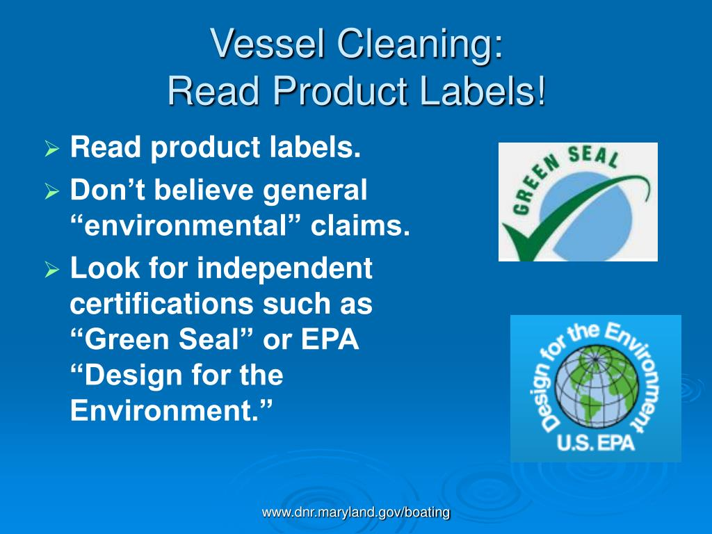 Vessel Cleaning:
