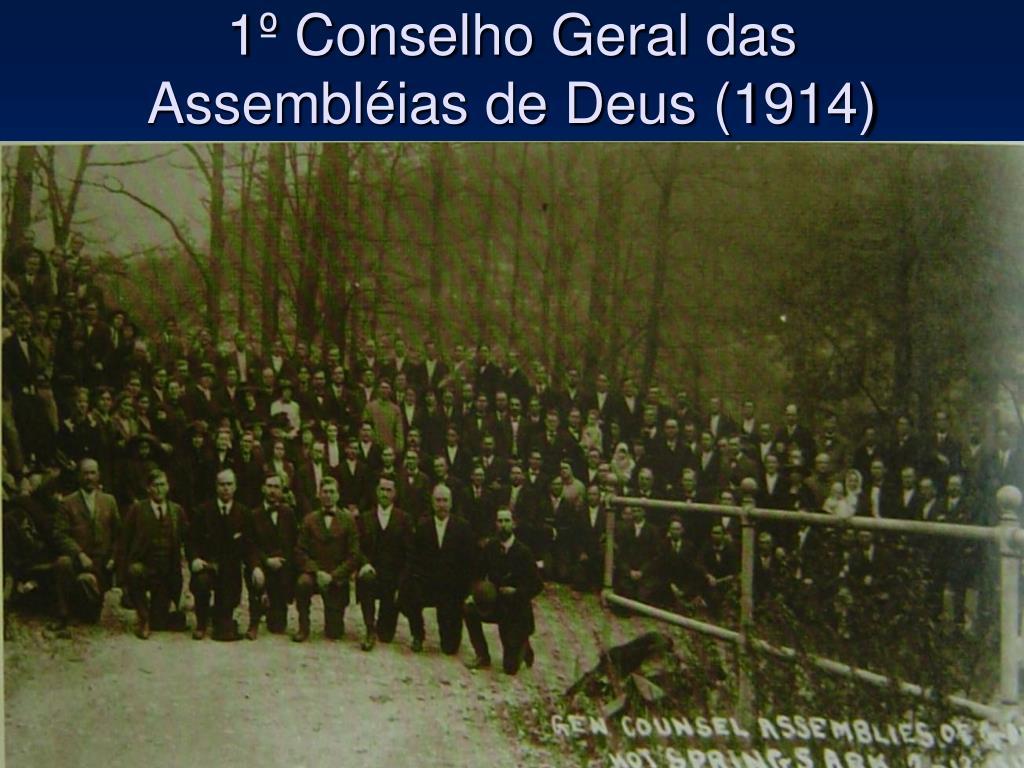 1º Conselho Geral das Assembléias de Deus (1914)