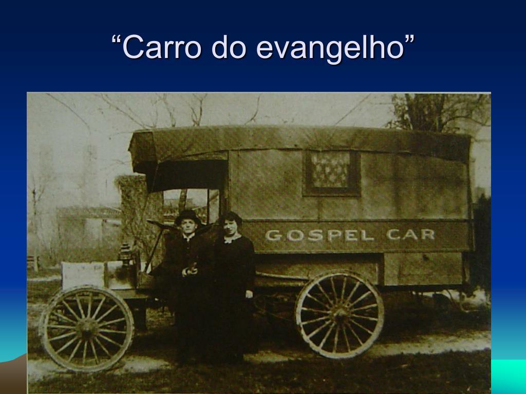 """""""Carro do evangelho"""""""