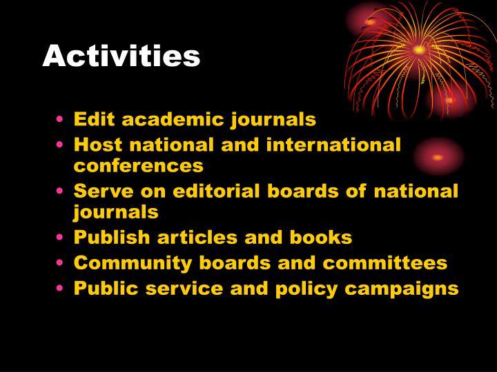 Edit academic journals