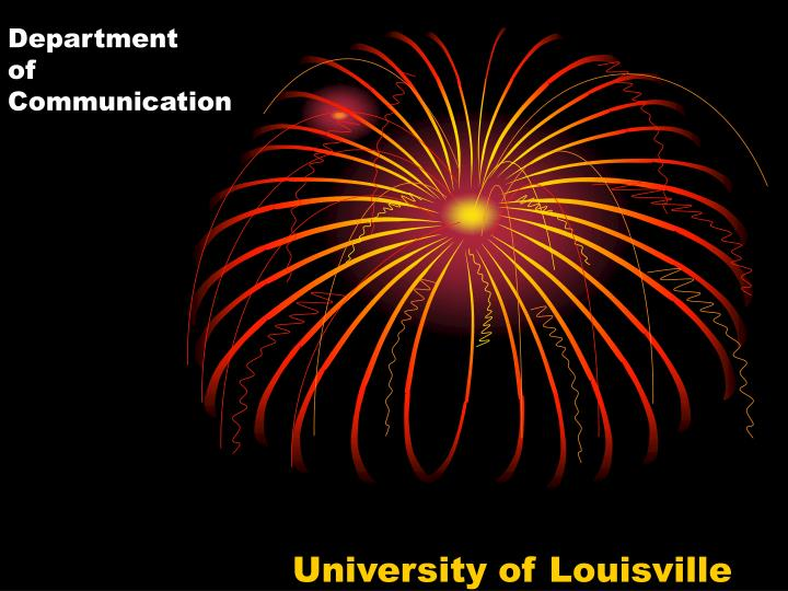 Department of communication
