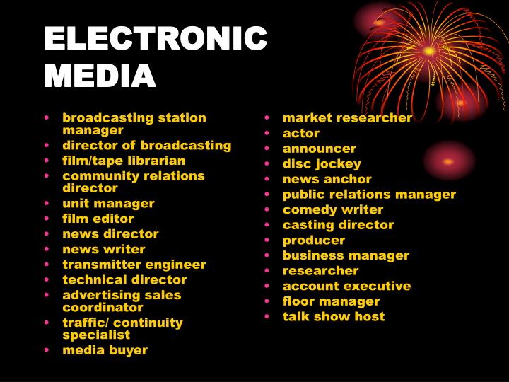 broadcasting station manager
