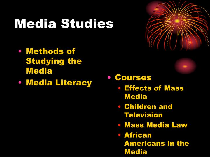 Methods of Studying the Media