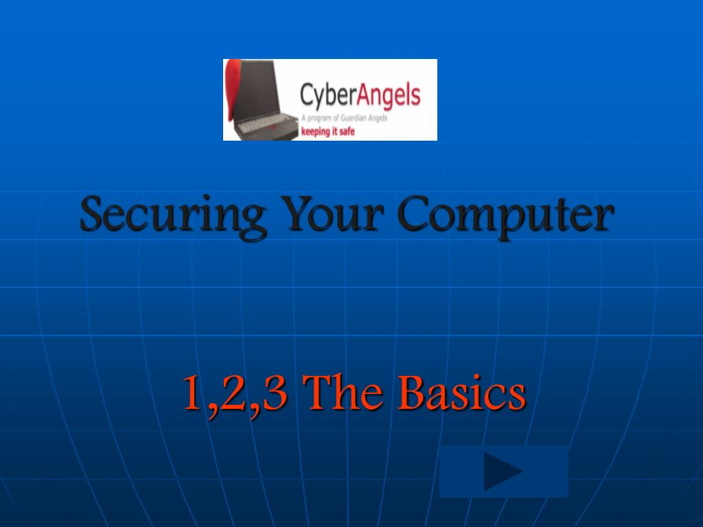 Securing Your Computer