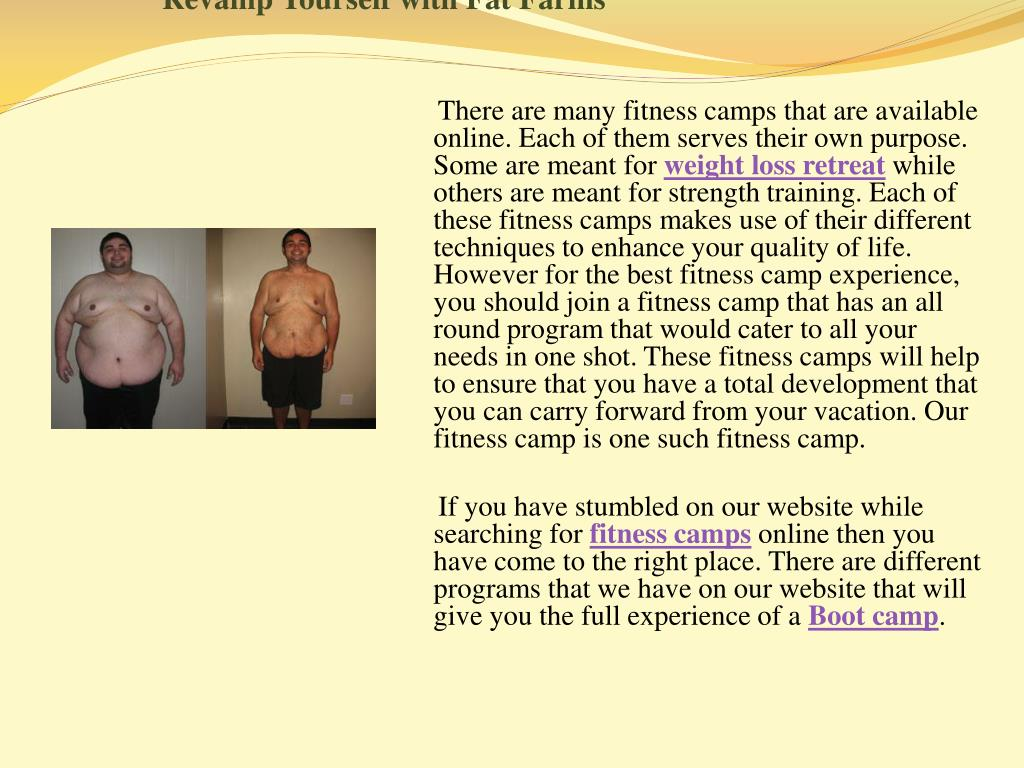 revamp yourself with fat farms l.