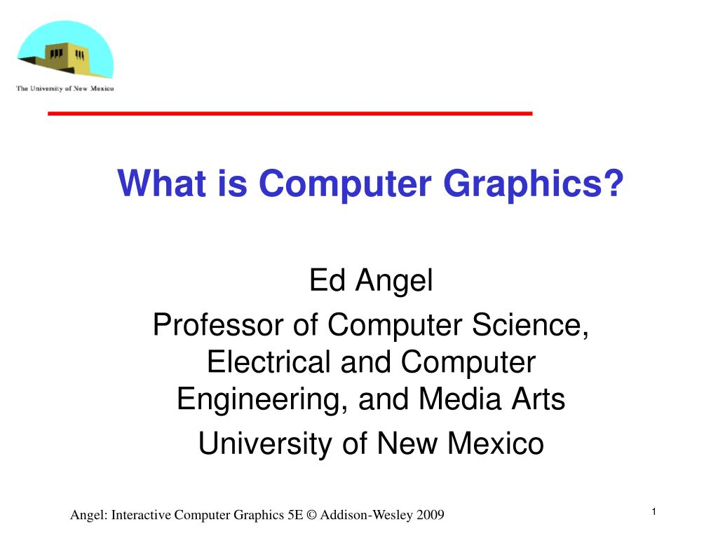 what is computer graphics l.