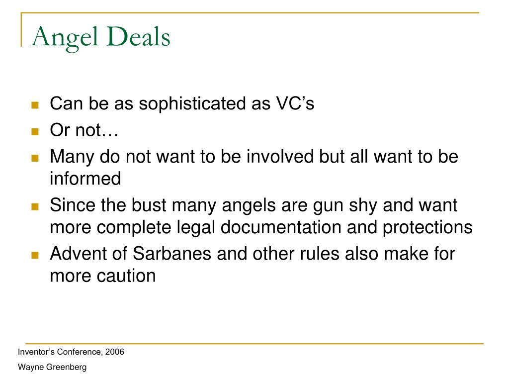 Angel Deals