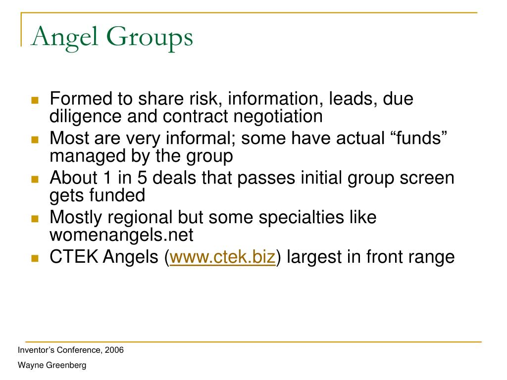 Angel Groups