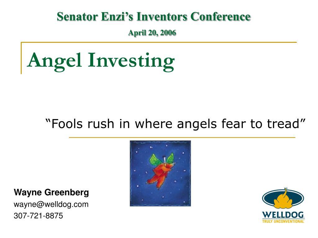 Senator Enzi's Inventors Conference