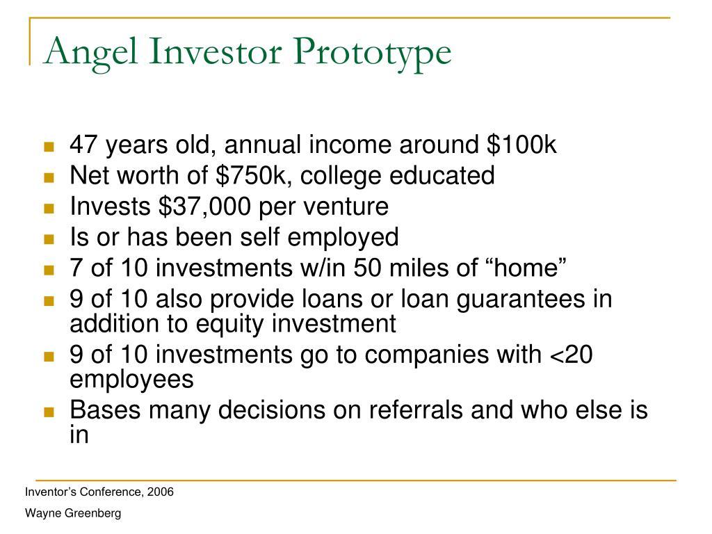 Angel Investor Prototype