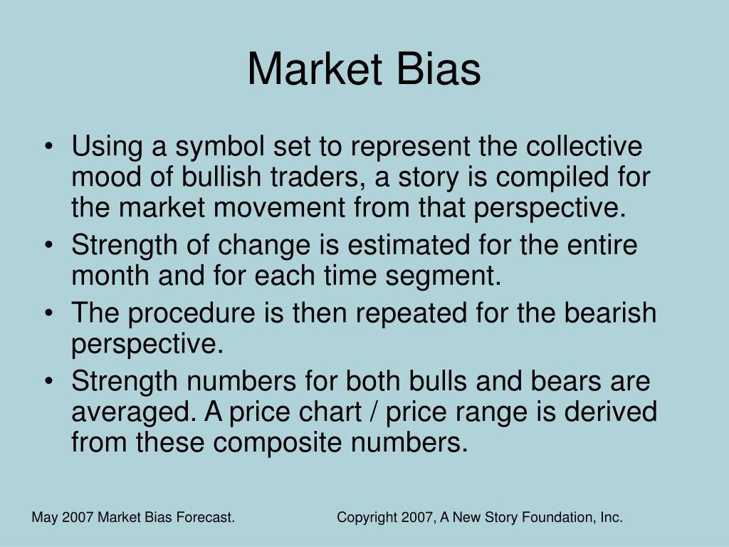 Market Bias