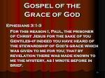 gospel of the grace of god16