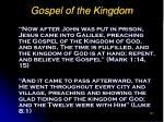 gospel of the kingdom107