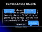 heaven based church