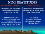 nine beatitudes72
