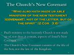 the church s new covenant61