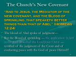 the church s new covenant62