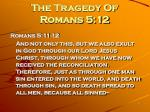 the tragedy of romans 5 12