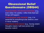 obsessional belief questionnaire obq44