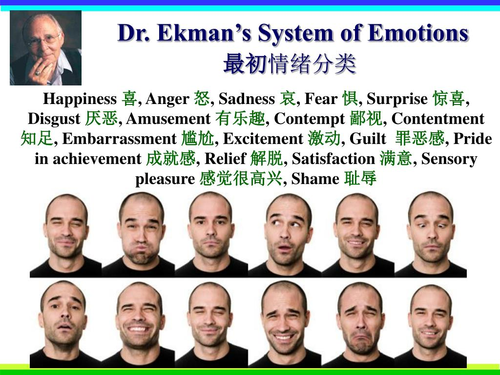 Dr. Ekman's System of Emotions