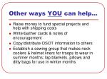 other ways you can help28