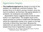 appreciative inquiry42
