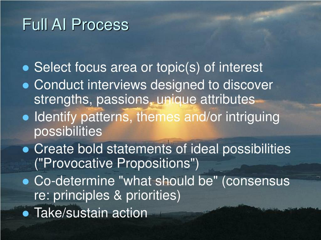 Full AI Process