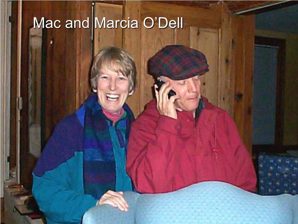 Mac and Marcia O'Dell