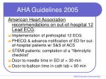aha guidelines 2005