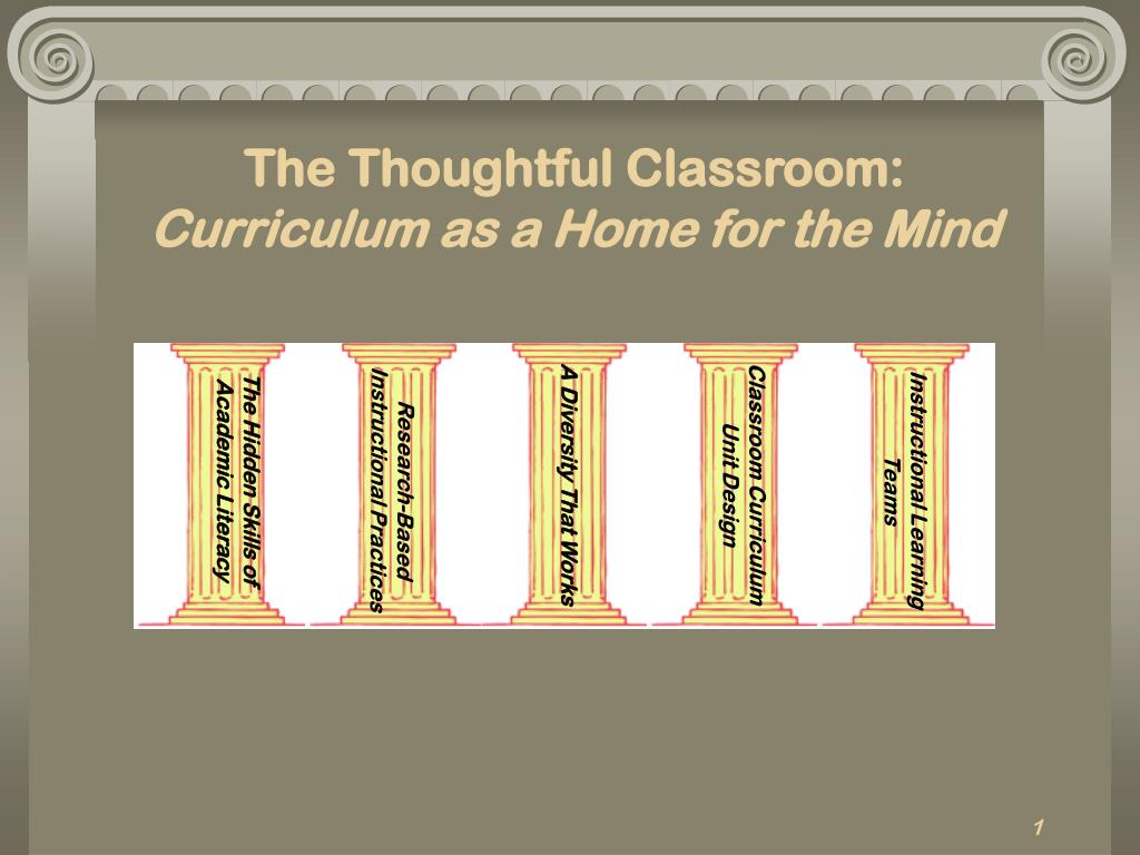 The Thoughtful Classroom:
