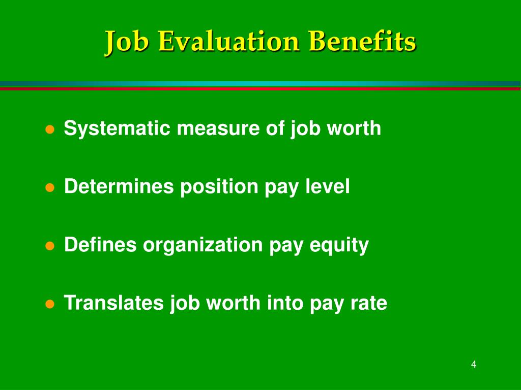 job evaluations Why bother with employee performance evaluations employee performance evaluations may seem like a lot of work for very little payoff your hr department spends hour-after-hour at least one month each year making sure your managers turn in their employee performance evaluations on time.