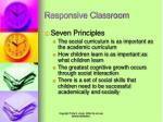 responsive classroom