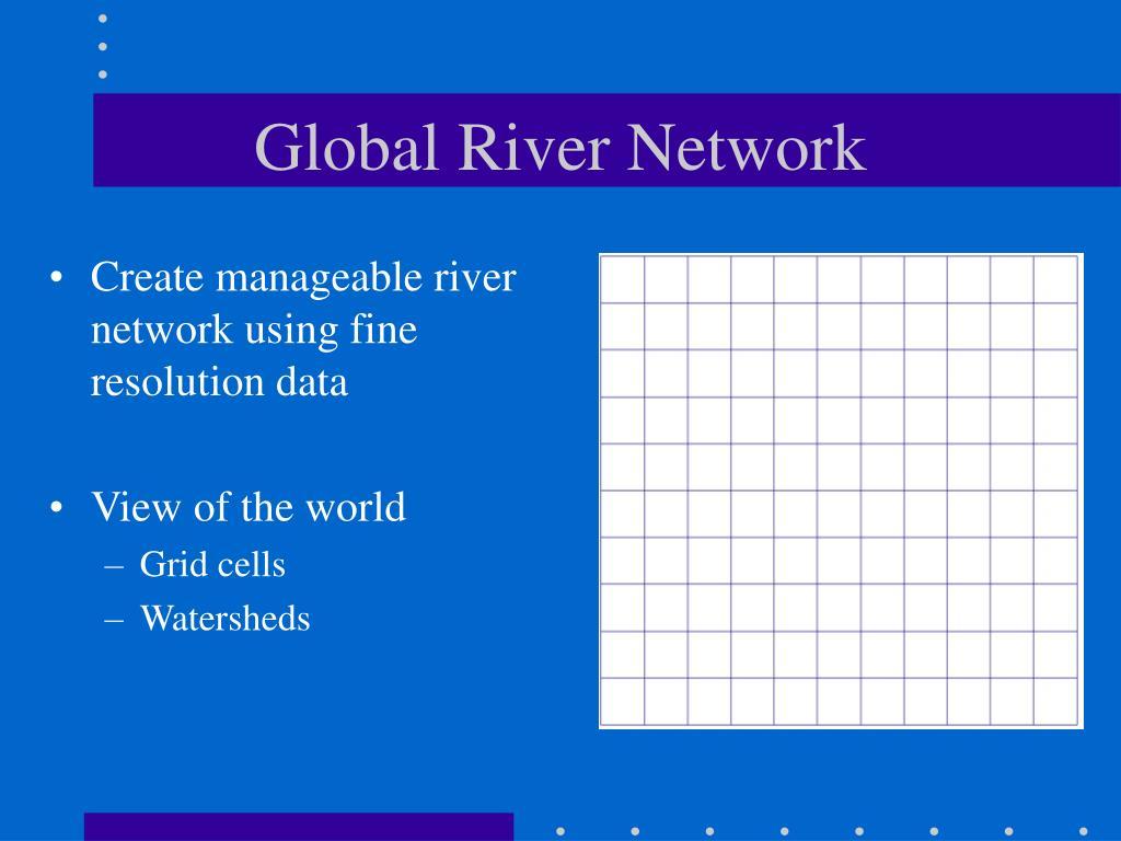 Global River Network