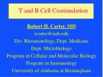 t and b cell costimulation