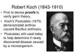 robert koch 1843 1910