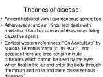 theories of disease